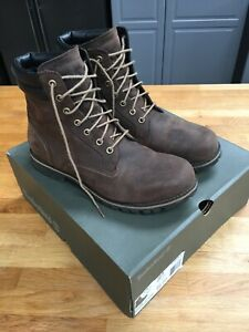Timberland Mens Waterproof Brown Leather Boots Size Uk 11 ( New Other)