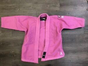 Fuji Victory Kimones Pink Gi Top Only Size Kids WCO