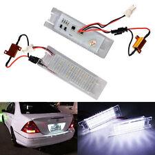 2× Opel Vauxhall LED Kennzeichen Beleuchtung Astra Corsa C D Meriva Zafira Tigra