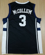 Throwback C.J. McCollum #3 Basketball Jerseys All Stitched Black Brown