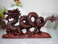 Chinesischer Drache Skulptur Drace Kunstharz Rasin Chinese Dragon Deko Figur 2