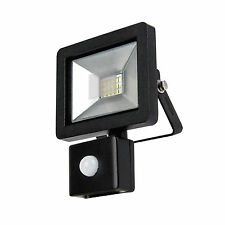 a Slimline Energy Saving Outside House Garden LED Flood Light PIR Motion Sensor Inline Waterproof Cable Connector 2