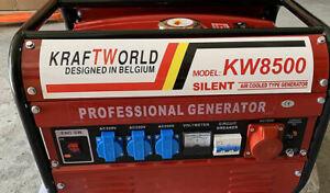 Notstrom Aggregat Benzin Generator Strom Erzeuger 400 Volt u 3x 220 V