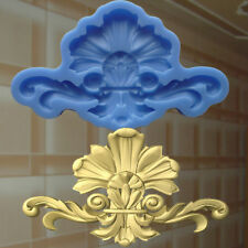 Gießformen Verzierung Silikonformen Gips Ornament Relief Deckenverzierung  (161