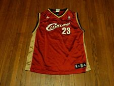 Boys' VTG Adidas Cleveland Cavaliers LeBron James 23 Away Replica Jersey sz XL