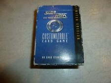 "STAR TREK ""the next Generation"" - Customizable Card Game (in box) - Ltd edition"