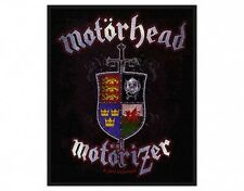 MOTORHEAD motorizer 2010 WOVEN SEW ON PATCH official merchandise LEMMY