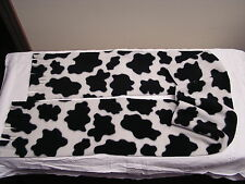 Cow Hide Fleece Scarf TOO Cute MOO!!!