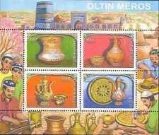 2010. Uzbekistan. Golden Heritage. COOPER HAMMERED WARE. S/sh.MNH.Sc.629