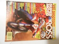 FEBRUARY 1989 SUPER MOTOCROSS MAGAZINE, 250 SHOUTOUT,,BAYLE,ENGLISHTOWN