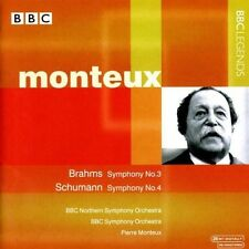 Conducts Rossini/Brahms/Schuma - Monteux,Pierre (2001, CD NEUF)