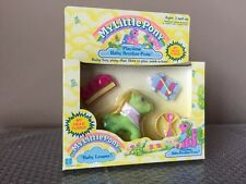 MY LITTLE PONY HASBRO 1987 RARE Playtime Baby Brother LEAPER Frog Green -SEALED-
