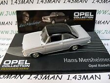 OPE135 1/43 IXO designer serie OPEL collection : KADETT A coupé H.Mersheimer