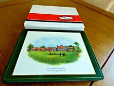 Vintage high quality place mats of Famous British Golf Clubs