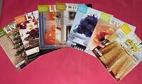 LOT 7 Martha Stewart Living Mags 2001 Apr, June, July, Aug, Sept, Oct, Nov, Dec