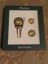 2012 Dated Masters Golf Divot Tool And Ball Marker Set Nwt
