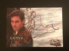 Buffy the Vampire Slayer Nicholas Brendon As Xander Auto Authentic Autograph A11