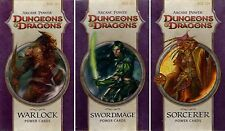 Dungeons & Dragons-arcane Power-POWER CARDS-spellcast-BUNDLE-NUOVO - NEW-VERY RARE