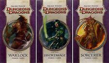 Dungeons & Dragons-Arcane Power-POWER CARDS-Spellcast-Bundle-Neu-New-very rare