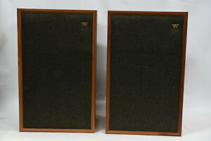 "Vintage Wharfedale Melton -  2 Way Speakers - 12"" Woofer - Rank Wharfedale"