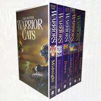Warrior Cats Collection Erin Hunter 6 Books Set Pack The New Prophecy Series 2