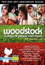 Woodstock 3 Days of Peace and Music DVD 1970 Documentary 1 Disc Only