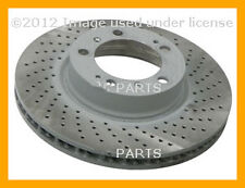 Porsche 911 Boxster Cayman 1999 2000 2001 2002 - 2010 Sebro Coated Brake Disc