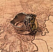 Silpada R1883 Green Olivine Sterling Silver Ring Sz 8 NEW! $104