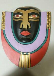 Contemporary Maori Kapong Wooden Mask