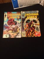 Lot Of 2 Indiana Jones Comics