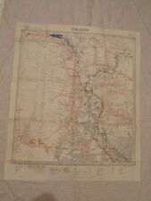 CARTE GUERRE INDOCHINE SAÏGON OUEST / CAMBODGE INDOCHINA WAR MAP 1/ 400.000