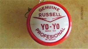 VINTAGE YO-YO COCA COLA PROFESIONAL GENUINE RUSSELL