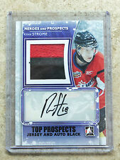 11-12 ITG Heroes & Prospects #TPMA-RS Top Jersey & Auto RYAN STROME Black /6
