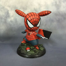 Pokemon Pikachu Cosplay Spiderman Action Figure Collectible Toy Doll in Box