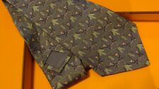 HERMES silk tie,whimsical collection,Monkeys and Bananas!,NEW with Box