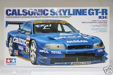 Tamiya 24219 JDM JGTC Calsonic Hoshino Impul Nissan Skyline GTR R34 BNR34 Model