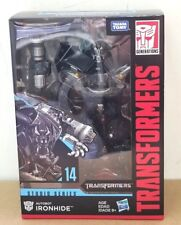 HASBRO TRANSFORMERS STUDIO SERIES 14 IRONHIDE VOYAGER CLASS IN STOCK