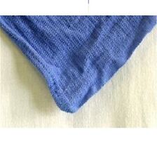 12 NEW BLUE HUCK TOWELS GLASS CLEANING JANITORIAL LINTLESS SURGICAL TOWELS!!