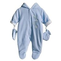 SOFT & FURRY  100% COTTON PRAMSUIT SPANISH STYLE BY ZIP ZAP