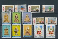 LL93772 Romania nice lot of good stamps MNH