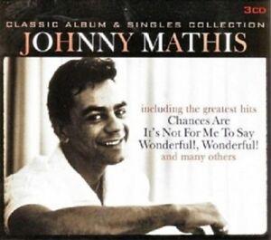 Johnny Mathis - Classic Album & Singles Collection  3 CD  Jazz / Pop  Neuware