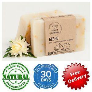 Baby Children Soap Calendula Chamomile Body wash Natural Organic newborn kids
