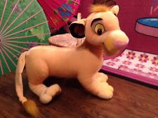 "2002 Hasbro Disney Jumbo Plush Lion King Simba 17"" Tall 15"" Long Great!"