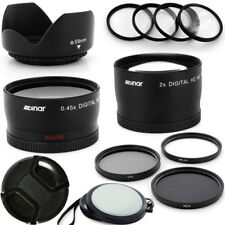 58MM Professional Lens Kit for Canon Rebel T4i T3i T3 T2i T2 T1i XTi XT XS XSi