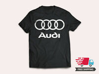 AUDI GRAPHIC TEE T-SHIRT GERMAN LUXURY CAR FREE SHIPPING S-5XL