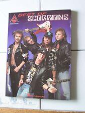 SCORPIONS BEST OF GUITAR TAB ROCK MUSIC SONG BOOK NEW HAL LEONARD PUBLISHING