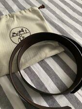 Hermes Belt 95cm Choclate/Noir