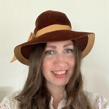 Vintage 60s Velour Hat Christine's Original