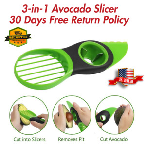 🔥 Avocado Slicer Fruit Specialty Cutter Knife 3 in 1 Kitchen Tool USA Seller 🔥