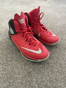 Nike Prime Hype DF 2 University Red Men's Shoes Size 12 Basketball Shoes